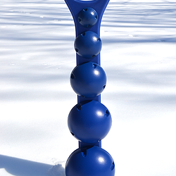 Wall Rack With Level 1-5 Hemispheric Balls